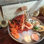 the seafood platter. An excellent choice