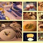 Un dîner fort symphatique et complet