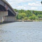 Allen Park View of Illinois 71 Bridge & Illinois River