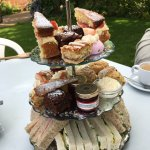 Afternoon tea looks nicer than it was...