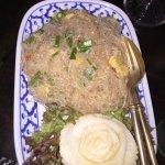 galss noodle salad
