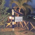 Warm and welcoming, Blue Bead is located right across from Golden Rock Dive Center.