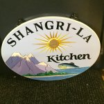 Shangrila kitchen now at the fooods for here and there serving  pizza , sushi , and Indian foods