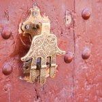Khamsa door knocker