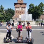 My sisters and I on the Milan Segway Tour. Had a blast!