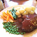 Pie of the day at the 'King's Arms', Ludham