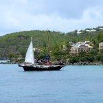 Pirate ship at St. John
