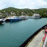Cruising in to Cruz Bay