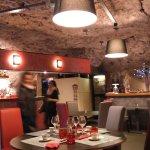 restaurant troglodyte creusé dans le tuffeau