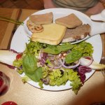 Le duo de foie gras et son chutney de figues