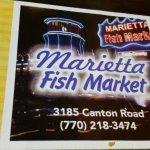 Marietta Fish Market Foto