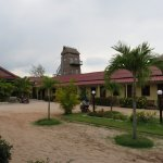 Mien Mien huts and grounds