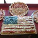 Opera d'arte Pizza art A special sicilian pizza for the 4th!!!