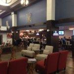 Lobby and restaurant