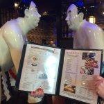 Menu and decor, Sumo Japanese Steakhouse