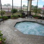 Check for sporting events before staying. Nice Pool Hot Tub and Breakfast.