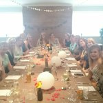 Brilliant service venue and food for a hen party