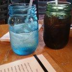 Soda in mason jars
