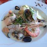 Choucroute de la mer et tajine de la mer, deux plats de bonne qualité pour 19€50.