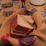 Rosemary Bread (warm!)