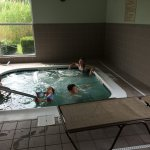 Kids under 14 in hot tub without an adult..those adults are US