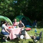 espacio de camping