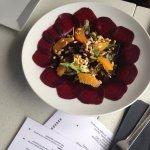 Red Beet salad!