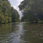 A long float after a rapid