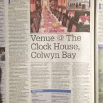 Venue get Seal of approval from the Daily Post Taste Test.  Great achievement.