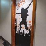 Every door looked the same...memorize your room number!