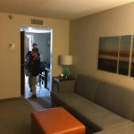 Thirds floor rooms all remodeled! Fantastic! Great layout and updated decor. Plus more plugs!