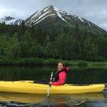 Kayaking on Summit Lake