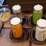 Juices and cereals