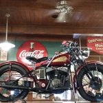 1945 Indian Chief (sorry about blurry pic)