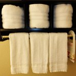 New Towel Racks for Exterior Rooms