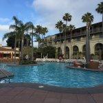Big pool- lots of families