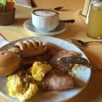 The breakfast at Hotel Crampon is FANTASTIC!  We had breakfast at a 4 star hotel the night befor