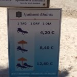 Prices of the Sunbed and Shades