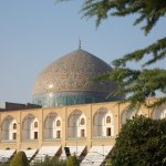 The gorgeous dome of Sheikh Lotfollah Mosque
