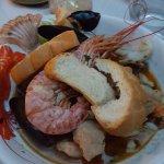Fish soup - yummy but small