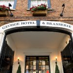 The George Hotel & Brasserie front entrance
