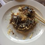 Japanese pop-up bar meals: okonomiyaki