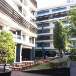 Wery pleasant courtyard