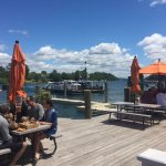 Nice place to watch the ferry cross, good food & service. They have a nice deck overlooking Lake