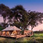 Tent at andBeyond Nxabega