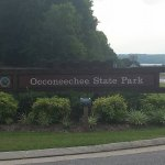 Occoneechee State Park just up the road from Lake Motel