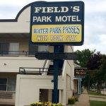 Park Motel front sign
