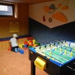 Das Kinderspielzimmer im Keller