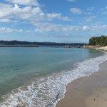 白砂の美しい海岸