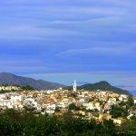 The hillside village of Parcent